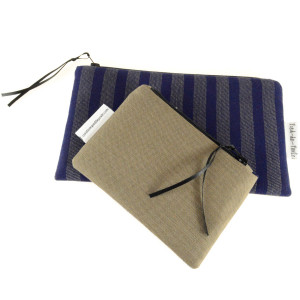 Pied-de-Poule Fabric Case (Flexible)