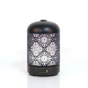 Mandala, ultrasonic nebulizer, black iron