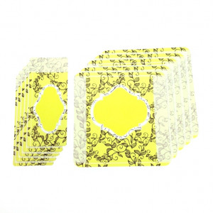 Customizable Labels Kit - Yellow, 10 un.