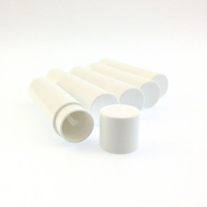 5ml Lip Balm Tube, White Polypro