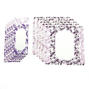 Customizable Labels Kit - Lavender, 10 un.