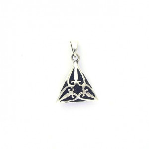 Pendentif diffuseur, Triangle, argent
