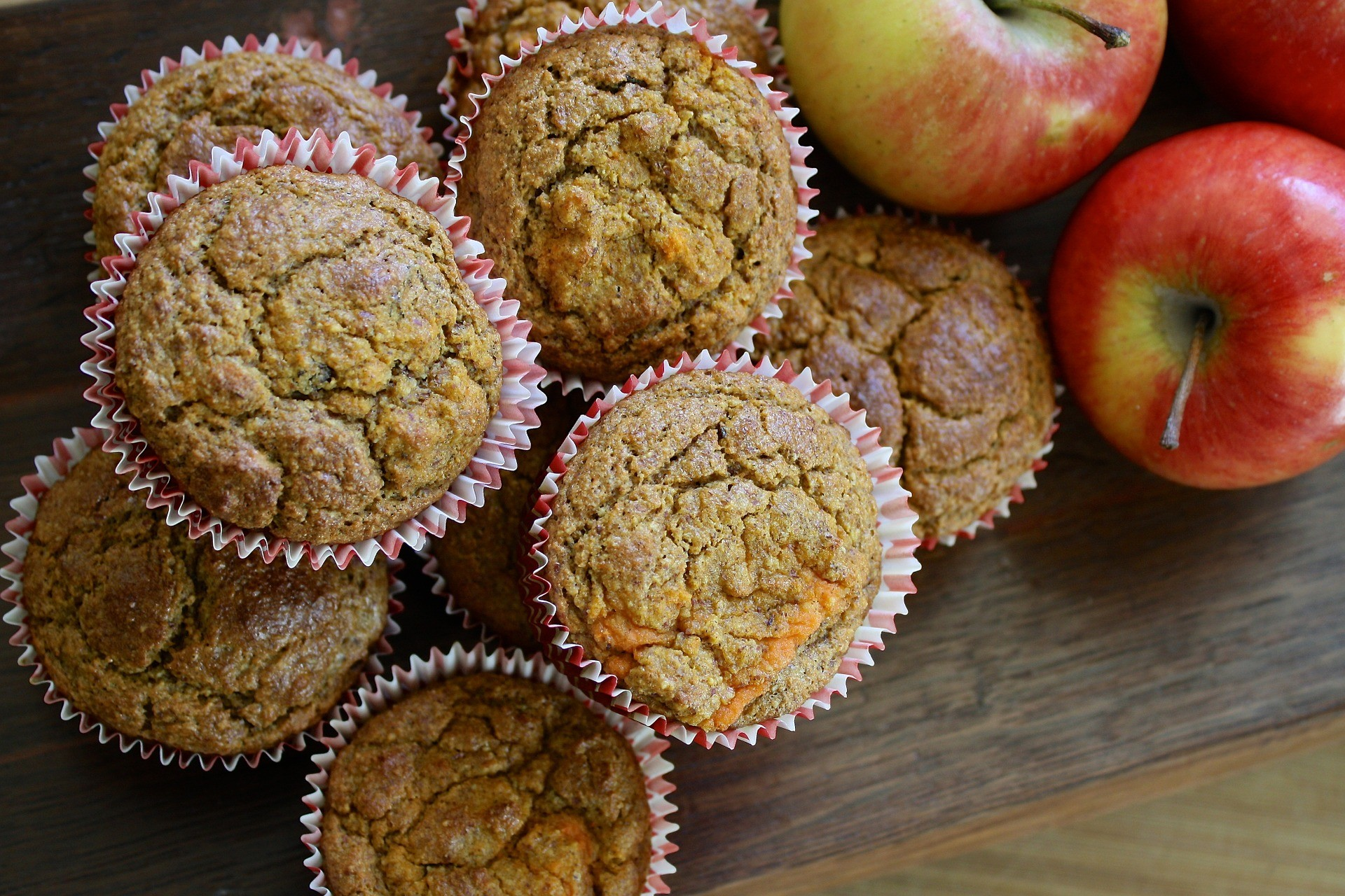 Buckwheat, Apple and Lemon Muffins