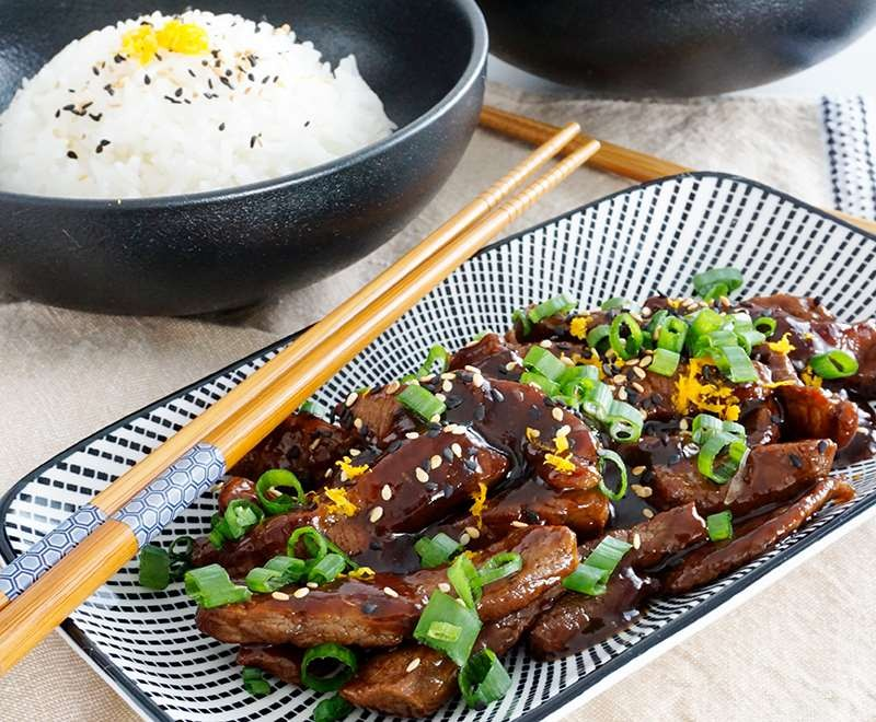 Teriyaki Orange Beef