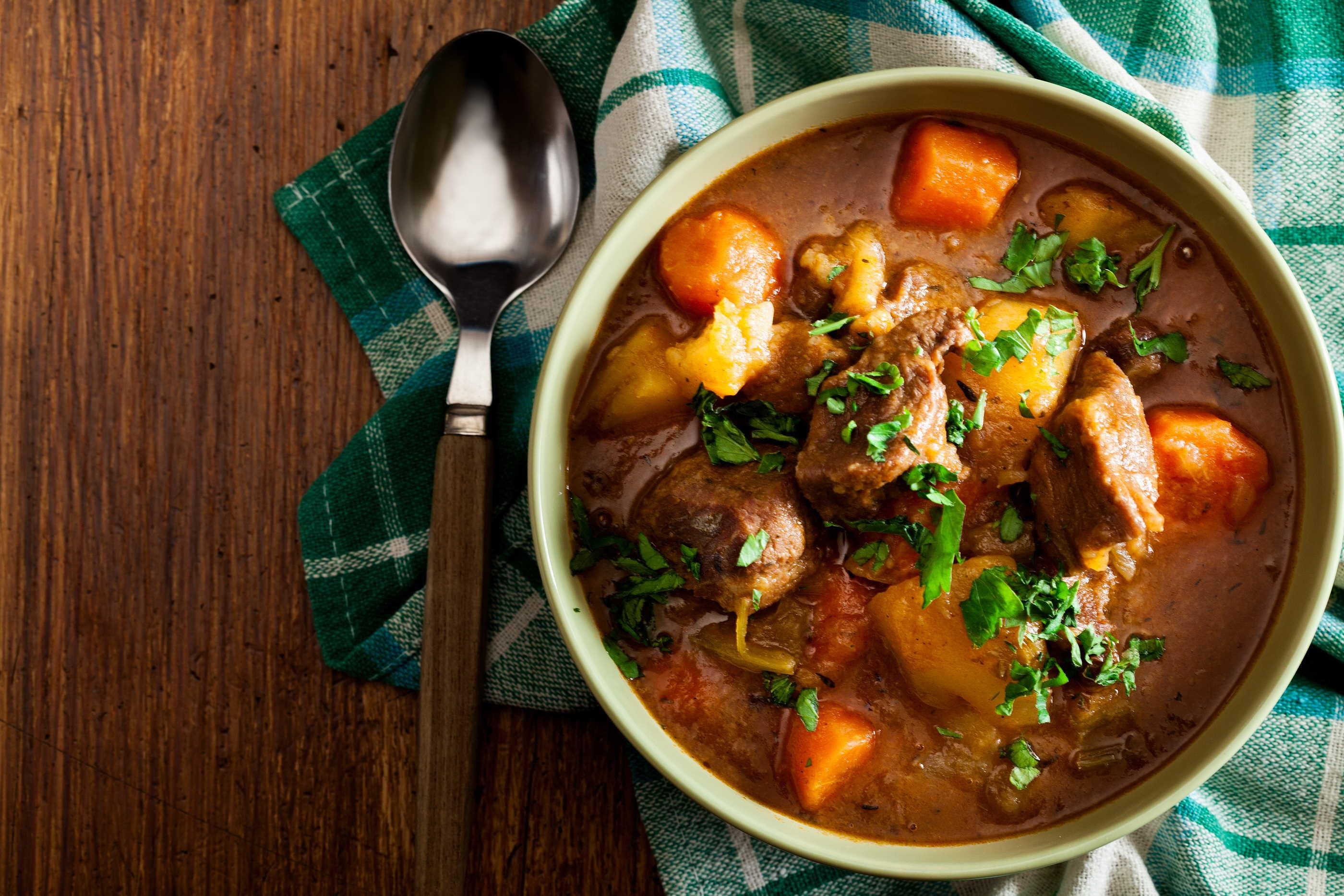 Beef and Root Stew